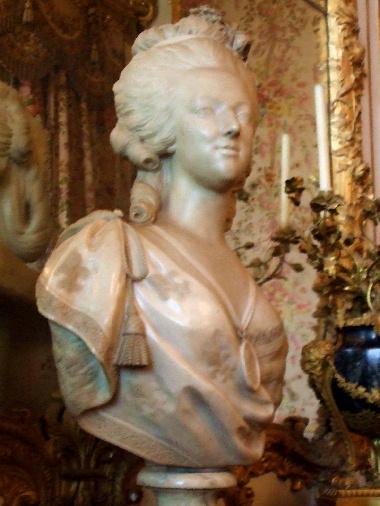 20060811 ヴェルサイユ宮殿 アントワネットの胸像