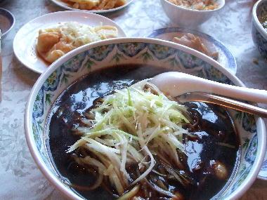 20070602 黒酢麺 揚州商人