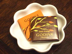 ゴディバ チョコs