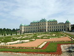 ベルヴェデーレ宮殿と庭