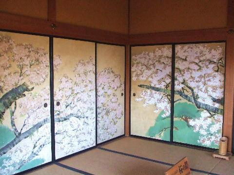 20081123 偕楽園 好文亭の桜の間