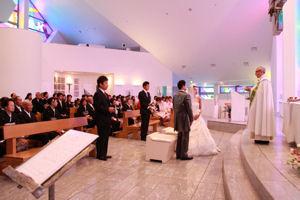 山口市 サビエル教会 結婚式