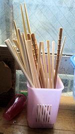 割り箸 リサイクル