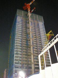 ザ・タワーズ・ウエスト プレミアレジデンス - 11/7 の夜撮影