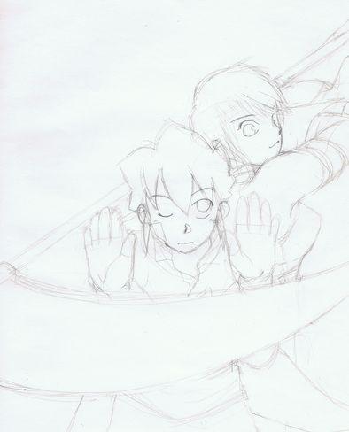 鉛筆描き2