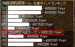 Pランキング07.23