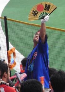 東京応援団50番さん