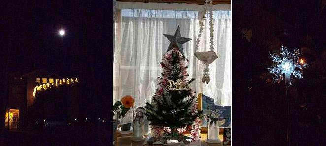 満月とクリスマス