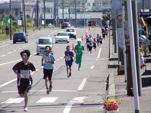納沙布岬マラソン