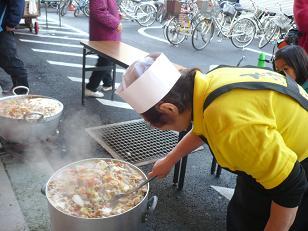 101127ちゃんこ鍋2