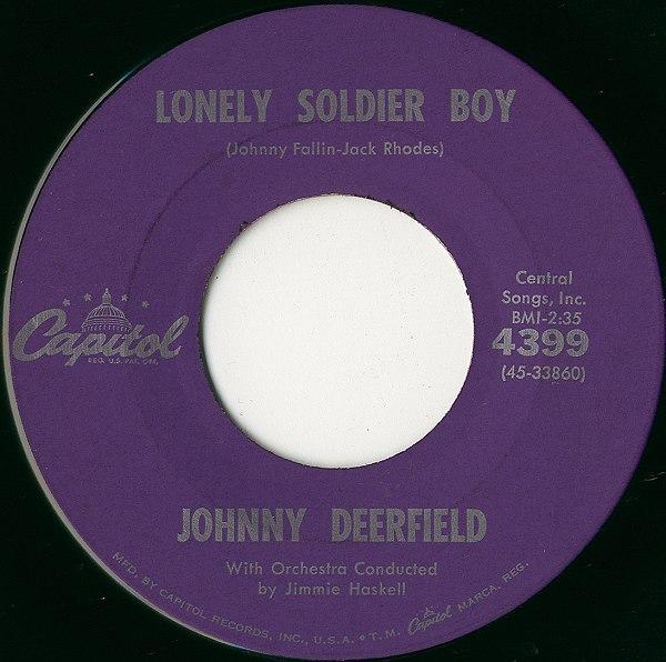 悲しき少年兵(Lonely Soldier Boy) / ジョニー・ディアーフィールド ...