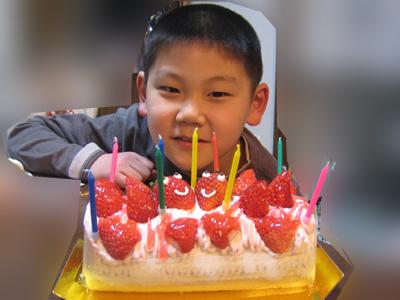 ようへ9歳誕生日