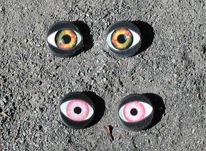 磁石の目玉