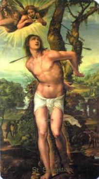 聖・セバスティアンの殉教 | *・゜☆.。. 幻想耽美宮殿.。:*・゜ ...