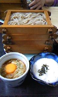 2010.6.18 蕎麦舗・ふじたや せいろ700円+とろろ50円