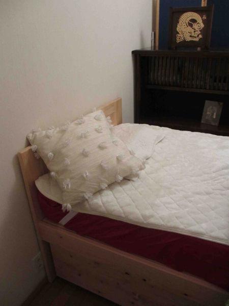 別注檜ベッドやすらぎ