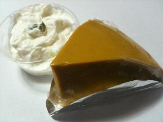カフェ ベル かぼちゃのムース