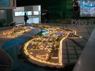 上海EXPOの模型