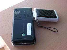ソーラー充電池、