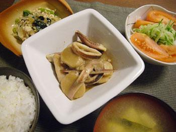 小松菜ともやしの甘辛炒め