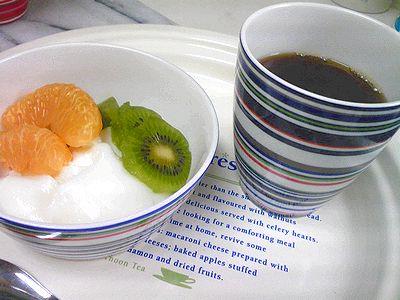 2009/01/22夜お茶