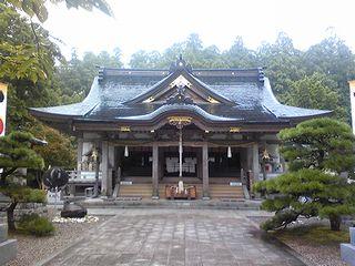 2008/09/05熊野拝殿