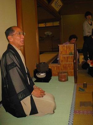 東大寺濃茶席拝見