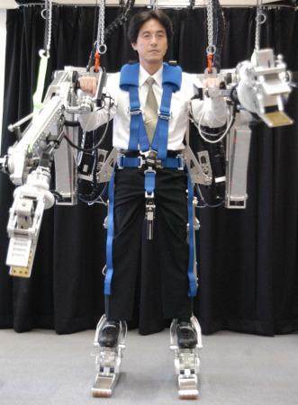 パワー増強ロボ