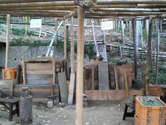 平野の森・炭焼き窯