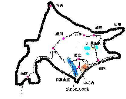 北海道地図線路