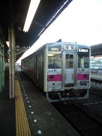 釧網線一個電車