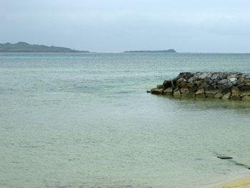 小浜島 細崎(くばさき)の海