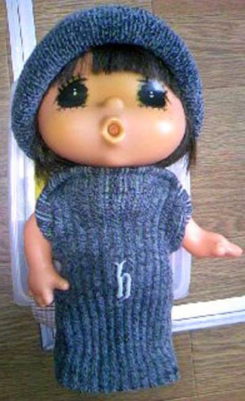 ジェジェちゃん 秋服作りました