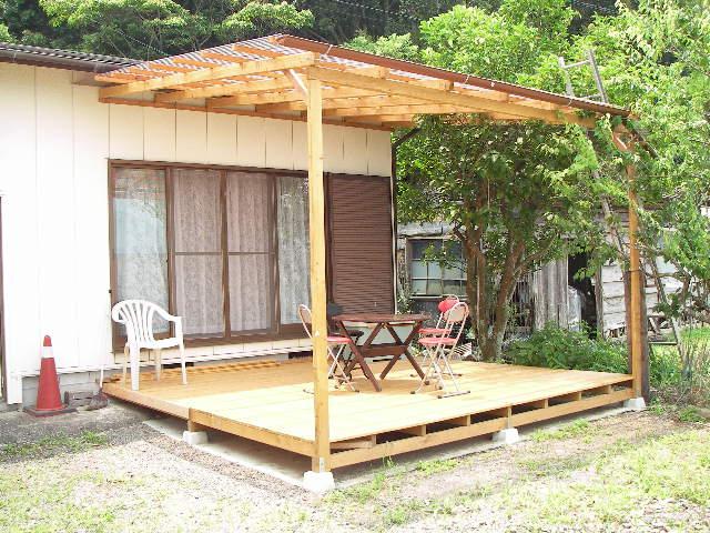 屋根付きベランダの完成   海ほたる - 楽天ブログ