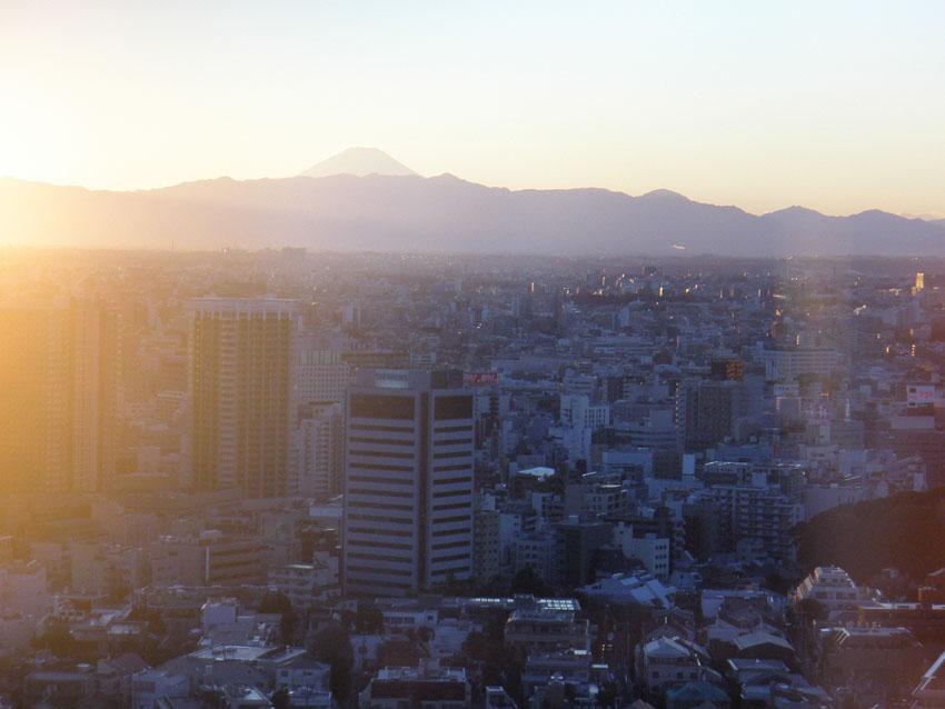 夕映え富士山.JPG