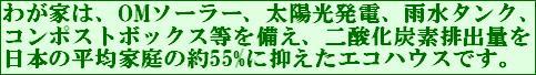 エコハウスバナー55%