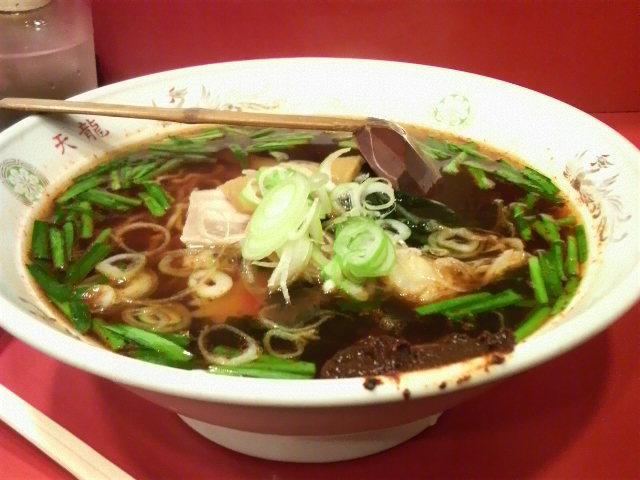 中華料理「天龍」(激辛ラーメン)