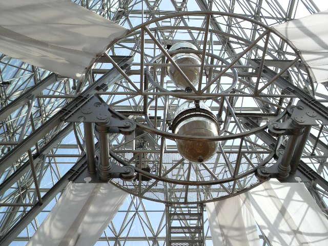 仁摩サンドミュージアム(世界一の砂時計)