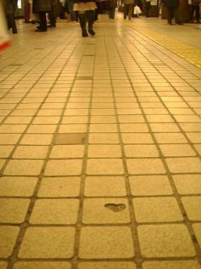 地下鉄ハート
