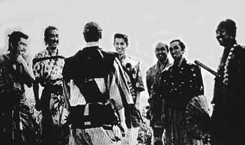 七人の侍を演じた俳優