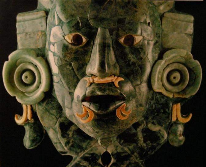 古代の仮面