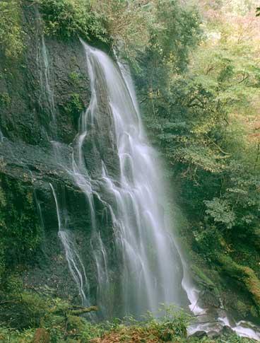 うそぐいの滝