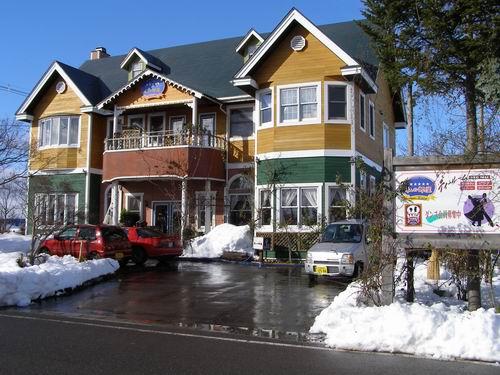 2010年のクリスマス豪雪が残っている2011年新年