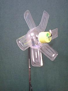 風車 作り方 の ボトル ペット の