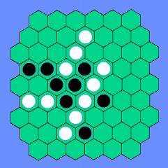 六角オセロ盤