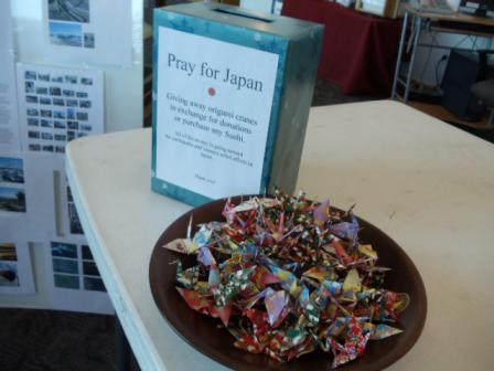 Donation Box and Ori-Tsuru
