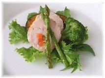 野菜巻きチキンソテー.JPG