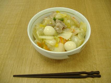 八宝菜丼-3