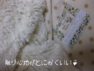 大きめマイクロロングボアホワイト 綿毛布ブランケット