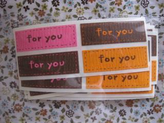 横長)ピンク&オレンジ&ブラウン